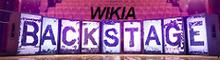 Backstage Wikia logo