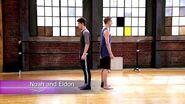 "The Next Step - Extended Dance- Noah and Eldon ""Oxygen"""