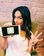 Taveeta on TNS's snapchat