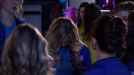 Ebttrt michelle realizes that she has to do the trio