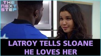 LaTroy Tells Sloane He Loves Her - The Next Step