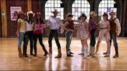"The Next Step - Extended Dance- A-Troupe ""Coming Home"" Line Dance"