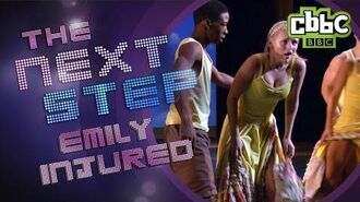 The Next Step Season 2 Episode 32 - Emily's injured in the group dance