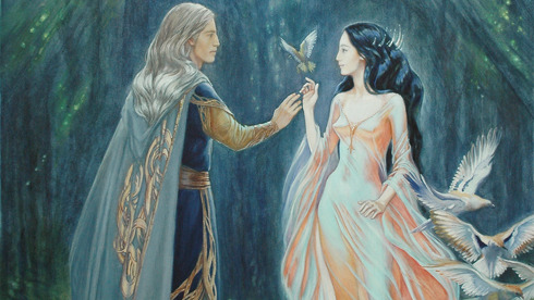File:Thingol and Melian.jpg