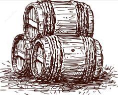 Barrels of dwarven mead