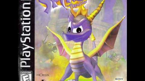 Spyro the Dragon - Title Screen
