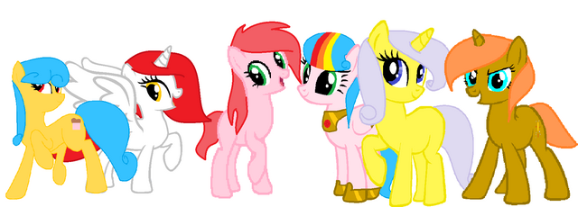 File:My MANE 6 my little pony.png