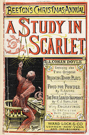 395px-A Study in Scarlet from Beeton's Christmas Annual 1887