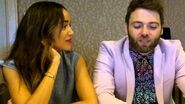 SDCC 2015- Salem - Ashley Madekwe and Seth Gabel (Tituba, Cotton Mather)