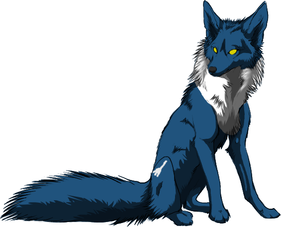 File:Myth wolf pose ifork colored by Fluttergon.png
