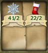 C464 Christmas cards CE