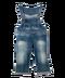 C169 Halloween fuss i02 Denim overalls