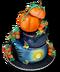 C261 Halloween snacks i06 Halloween cake