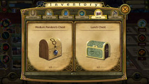 Lunch Chest in Inventory