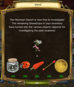 Spring Festival Update Snowdrops Removal