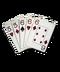 C045 Poker Combinations i03 Full house
