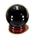 C580 Anamorphic art i04 Black ball
