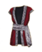 C329 Pirate's costume i01 Velvet waistcoat