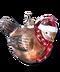 C276 Christmas ornaments i06 Bird