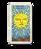 C050 Tarot Cards i05 Sun