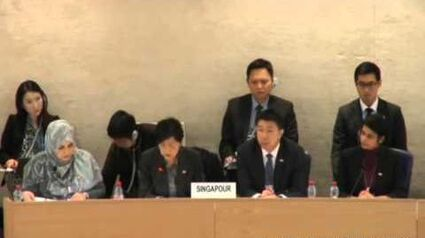 Singapore repeats same excuses to UPR 2016 for continuing gay discrimination