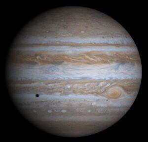 Jupiter by Cassini-Huygens