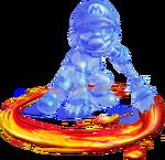 Shadow Mario Artwork - Super Mario Sunshine