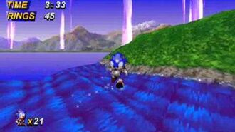 Sonic X-Treme gameplay