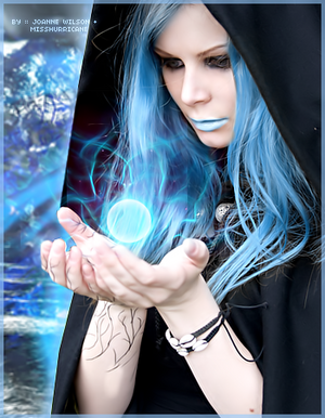 Glacius spell ice witch by joawilson-d45zn9k