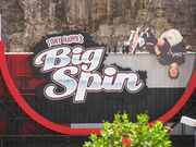 Tony Hawk's Big Spin halfpipe sign