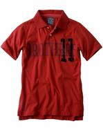 Brothers 11 orange polo shirt