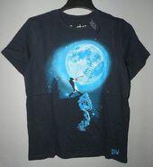 Brothers baseball moon t shirt