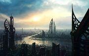 Cityscapes-futuristic