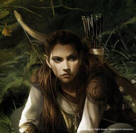 Elven Ranger in the Grand March