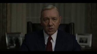Frank Underwood's final speech House of Cards Season 4