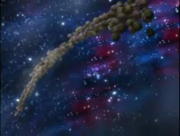 Swarm of asteroids