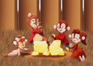 Spending time with brisby by whitelionwarrior-d66w1al