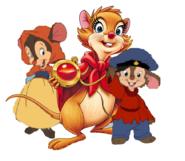 Mrs Brisby, Fievel and Tanya by BrianDuBose
