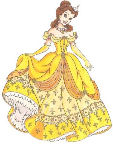 File:Disney glamour 1991 belle by silhale-d3k2c4p.png