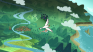 S1e18a bird flies by