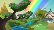S1e24 rainbow appears