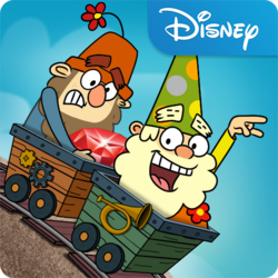 The 7D Mine Train App Icon