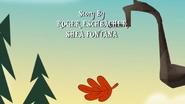 S1e19b Leaf fall; Story credit fully shown