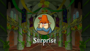 Surprise Title Card