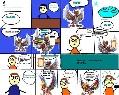 Comic 95 rocket science