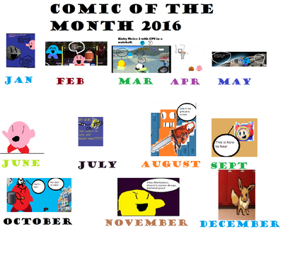 Comic of the month