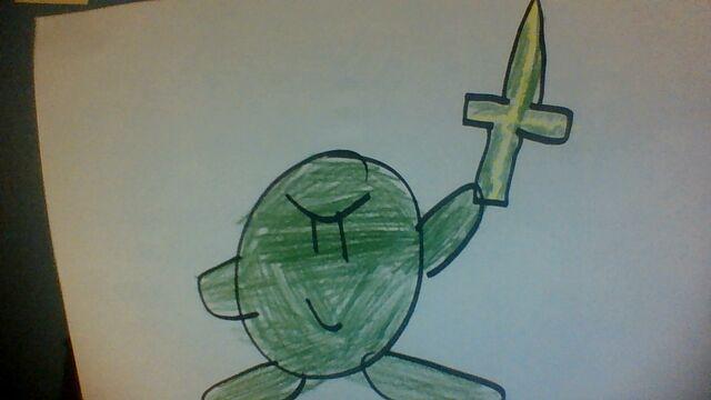 File:Green Sword Kirby.jpg
