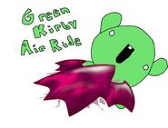 Green Kirby Air Ride