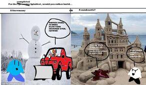 Comic 137 splatfest snowmen vs sandcastles by poyoride-d9vxtd5