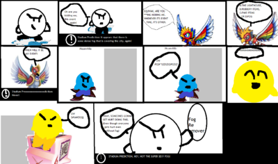 Comic 143 Without Fog